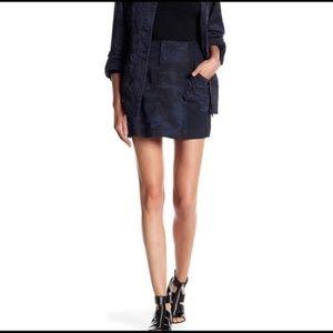 Marrakech Blue Camo skirt